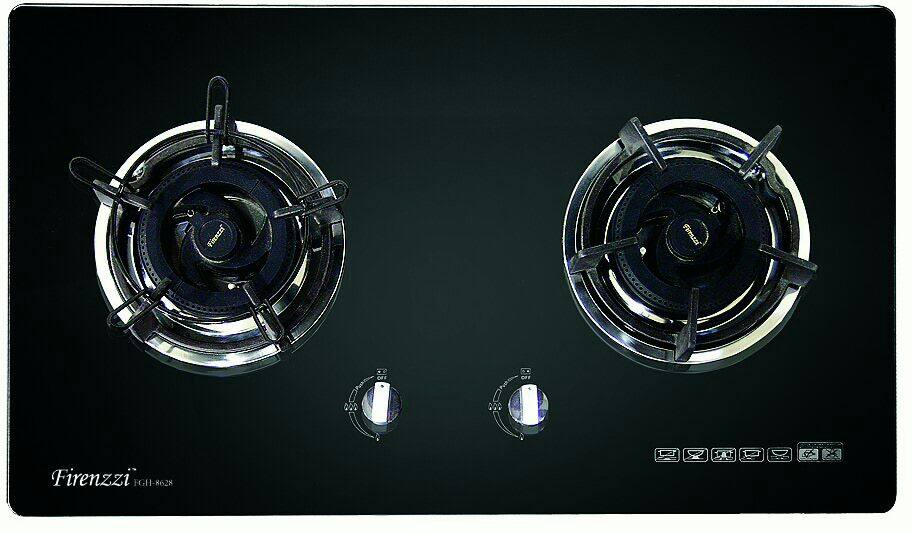 Firenzzi FGH-8628 Tempered Glass Hob with 1 Year Warranty (5.0 Kw Power Flame)