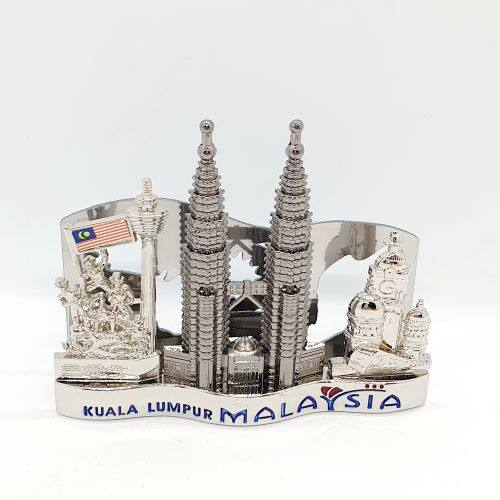 Ready Stock - Malaysia Scenery Name Card Photo Holder KL Tower KLCC Mosque Gift Souvenir