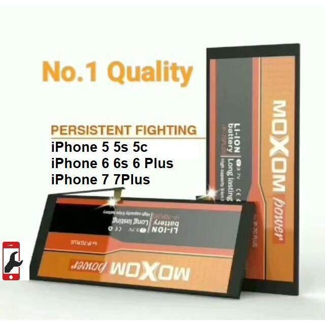 MOXOM Power Long Lasting Apple Iphone 5 / 5S / 6 / 6S / 6 Plus / 6S Plus