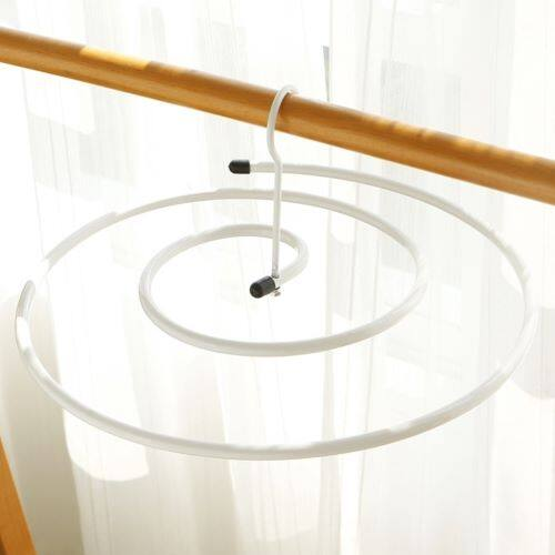 Spiral Hanger Rotating Storage Rack Save Space Drying Hanger