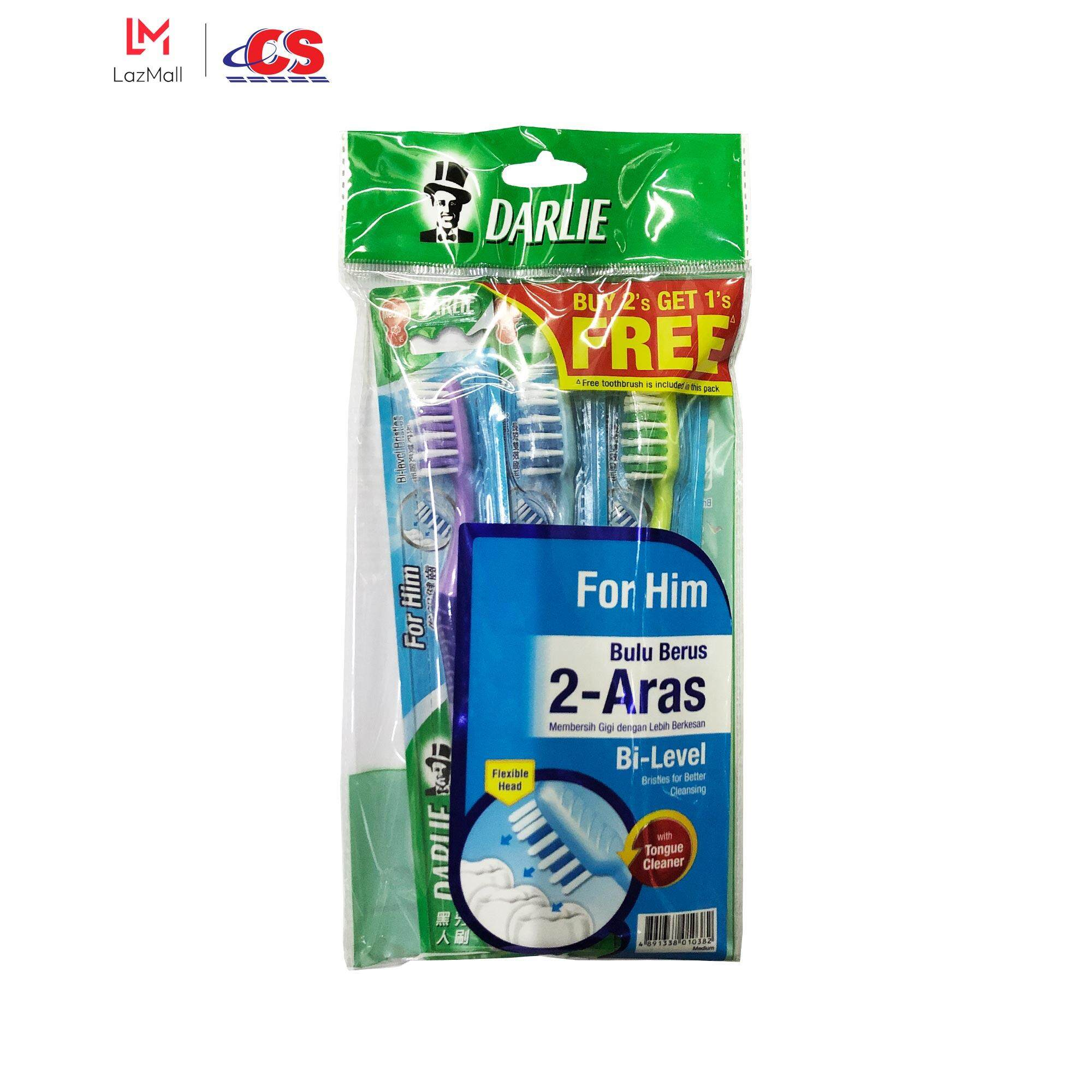 DARLIE Toothbrush For Him Buy 2 Free 1