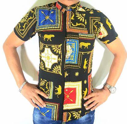 [Hot Sale] B-BOW Kain Halus Batik Men Regular Fit Series 3667
