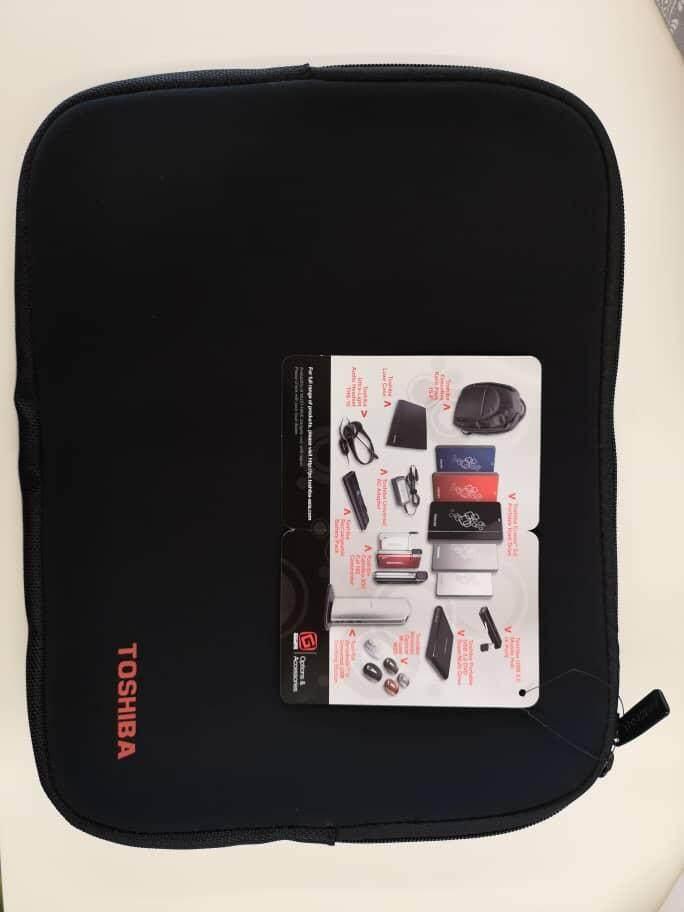 Original Toshiba bag for iPad 22cm X 28.5cm