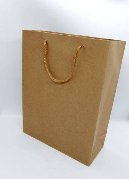 Ready Stock - 12 pcs/pack Goodies Gift Party Brown Paper Bag Kahwin