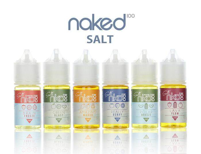 ORIGINAL USA NKD 100 SALT NAKED 100 30ML E-LIQUID FOR POD NKD AMERICAN PATRIOTS