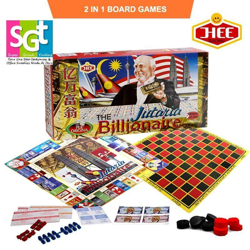 The Billionaire Jutaria Board Games (HT2326)