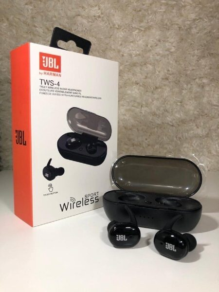 JBL TWS4 Bluetooth Wireless Earbuds JBL Headphones Earphone