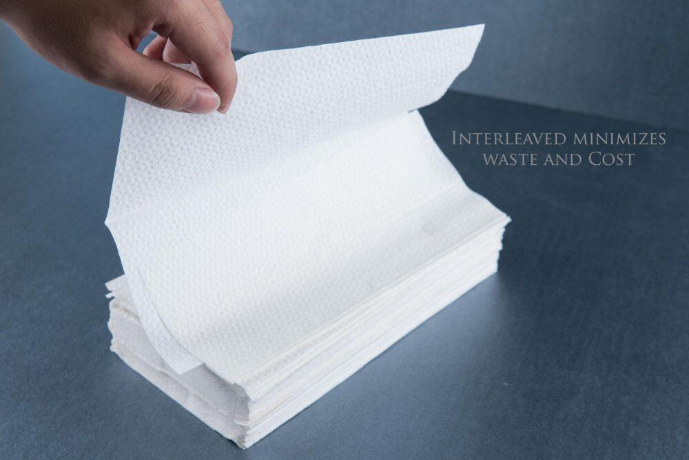 Interfold Hand Towel/Tissue-Local factory made [ 20pack x 200 sheets ][4000pcs] 100% Pure Pulp