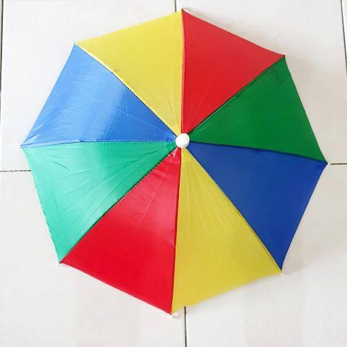 Ready Stock - Head Umbrella Anti Sun Outdoor Parasol Payung Kepala]