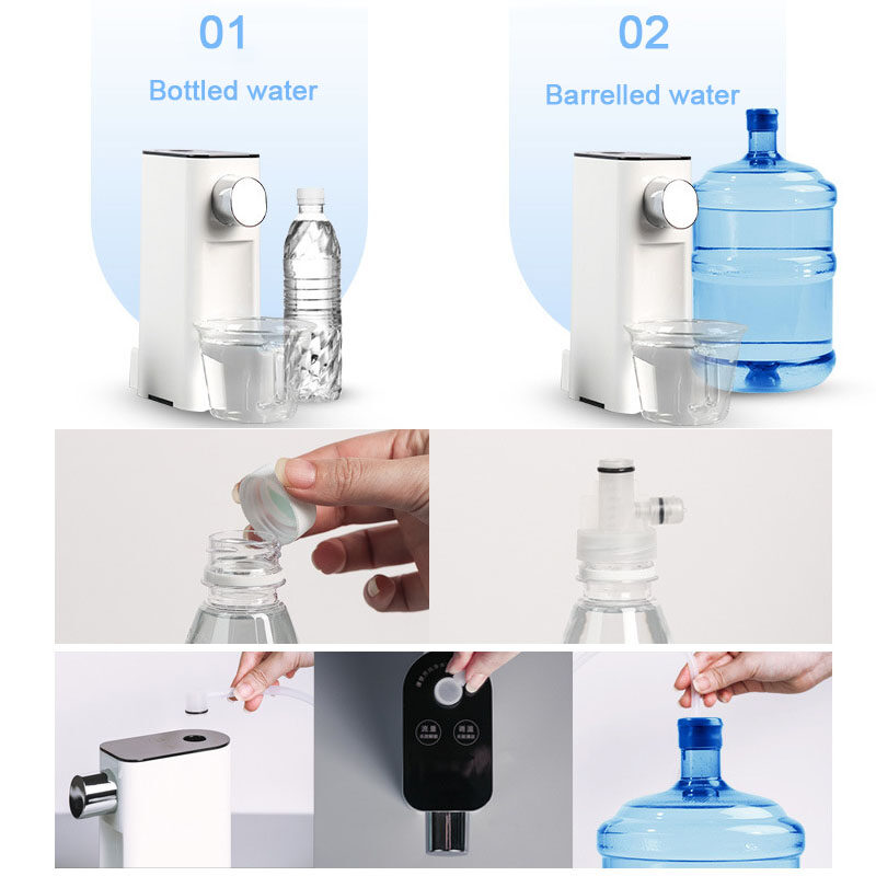 New Mini Pocket Water Dispenser Portable Instant Hot Water Drink Dispenser for Travelling Office Home Water Bottle Quick Heating