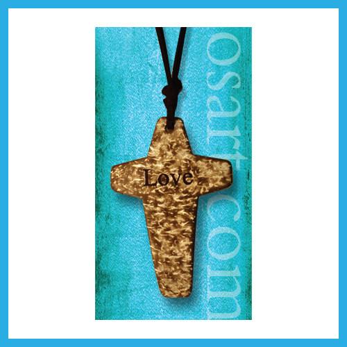 Ouranos Art Christian Mandarin Gift For Student Parent Scripture Coconut Shell Pendant
