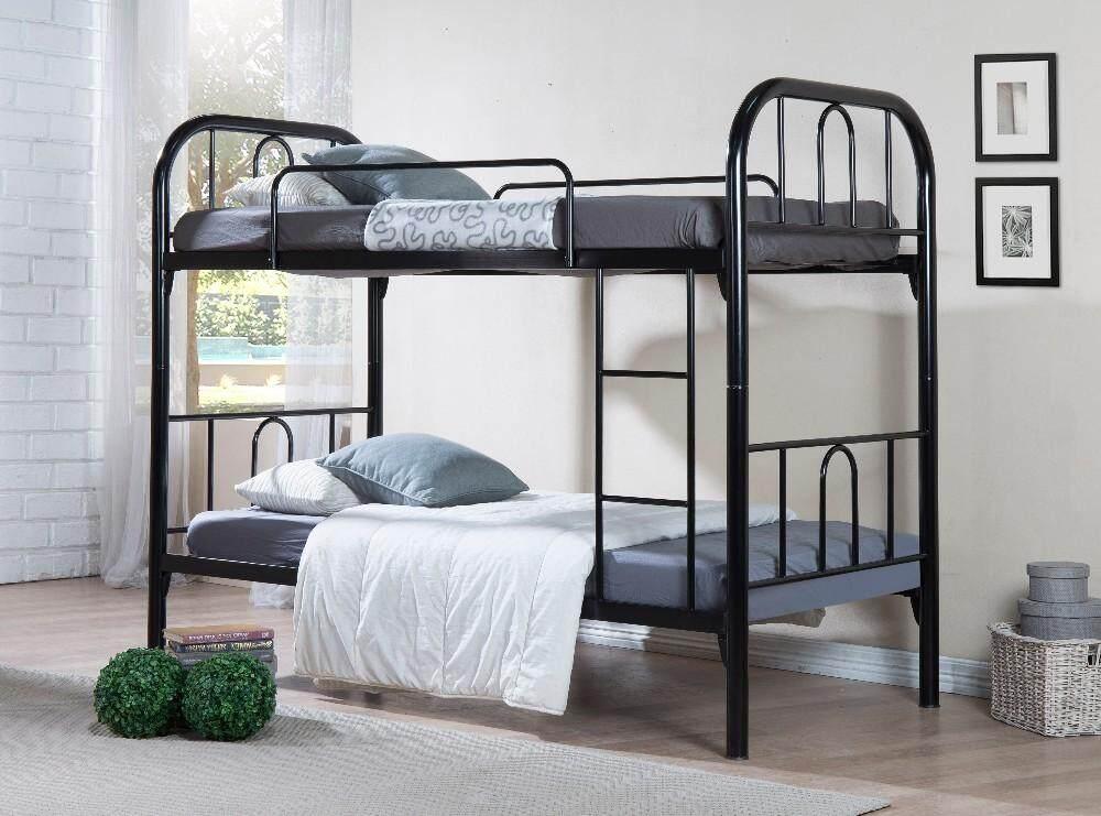 KHOON YU FURNITURE: STRONG DURABLE SAFARI DOUBLE DECKER/BUNK BED BEDROOM FURNITURE. Bed Frame