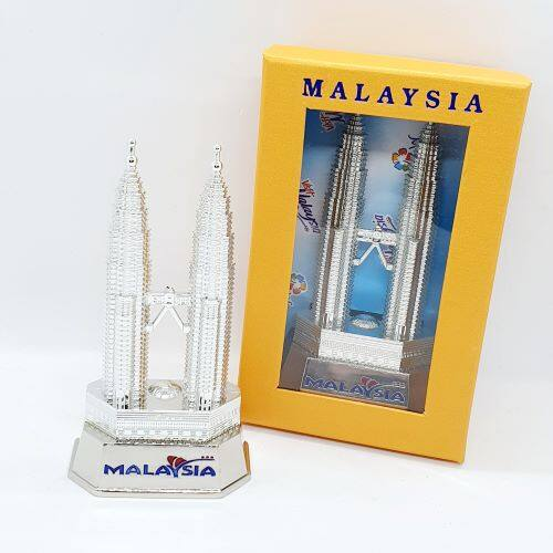 Gift Souvenir 13 Cm Height Malaysia Twin Tower KLCC Monument