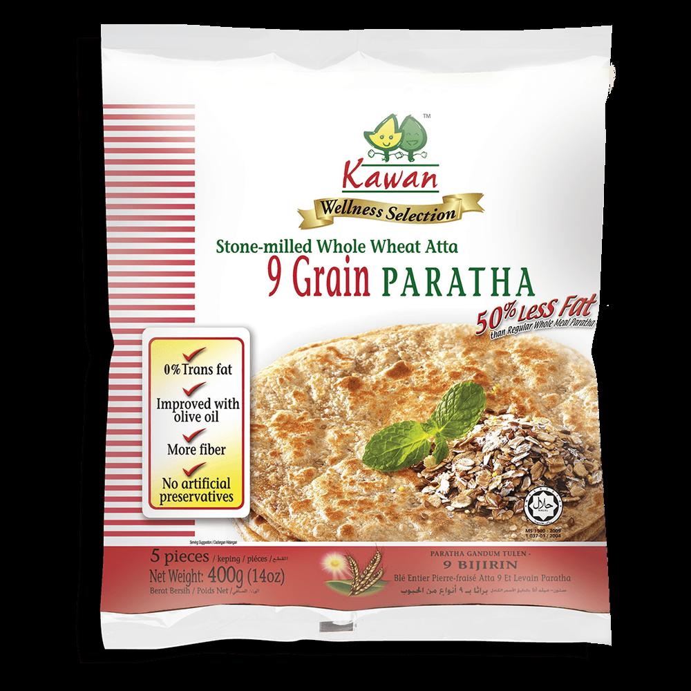 KAWAN Nine Grain Paratha (5 pcs - 400g)
