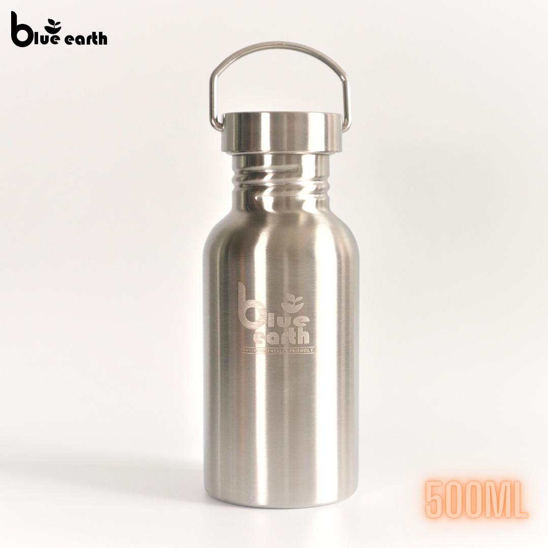 Blue Earth stainless steel water bottle 500ml, 800ml, 1200ml, 2000ml bottle drinking bottle