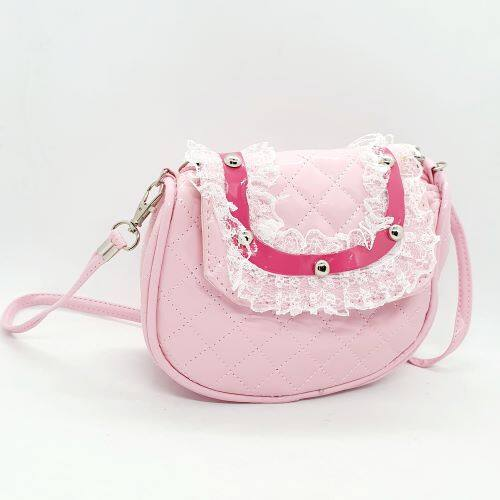 Ready Stock! Cute Lace Design Sling Bag For Kids Girls