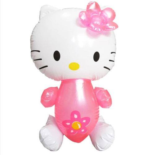 Ready Stock - Hello Kitty Inflatable Dolls Kids Toys