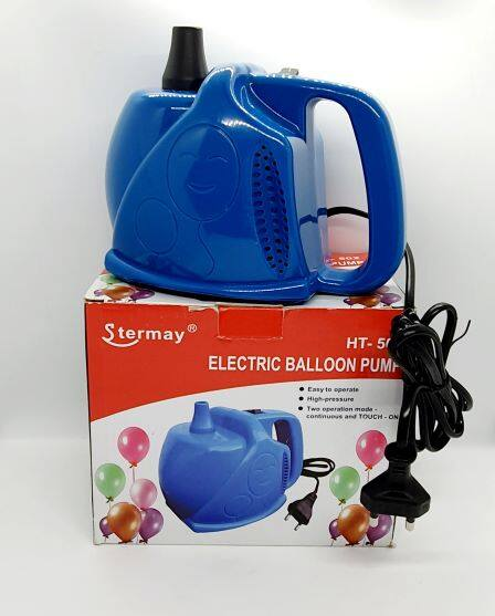 Ready Stock - Portable Electric Balloon Pump HT-502 Stermay Single Hole