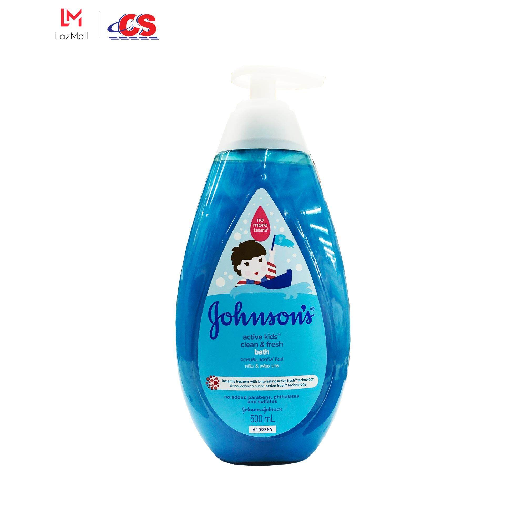 JOHNSONS BABY Bath Active Kids Clean and Fresh 500ml