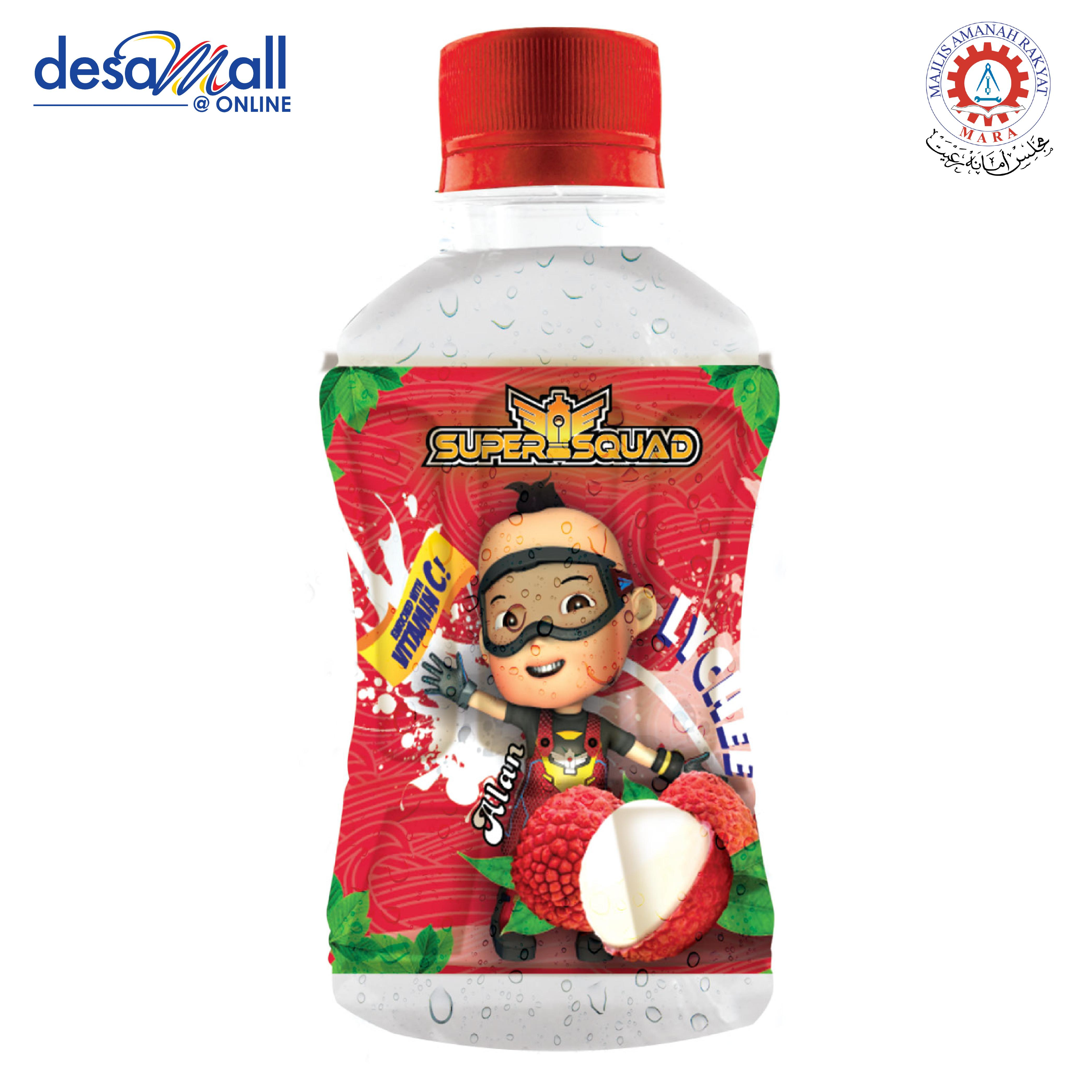 KINCIRMAS Supersquad Lychee 280ml