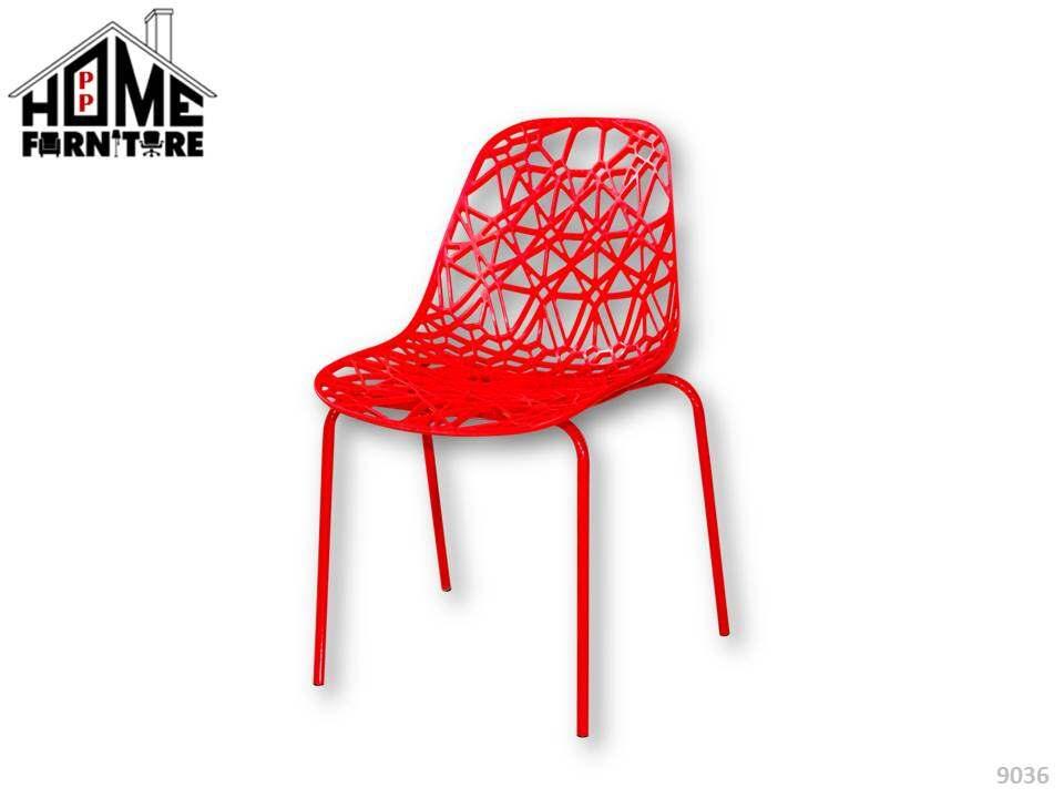 PP HOME Plastic dining chair Kerusi plastik 塑料椅 Su liao yi9036