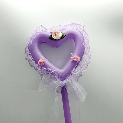 READY STOCK - Love Shape LED Light Up Stick Wand (Lampu Pari-Pari)