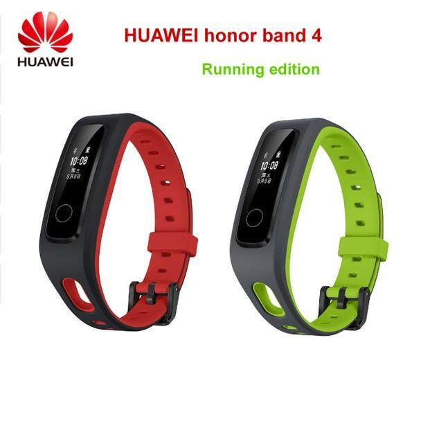 Huawei Honor Band 4 Running Edition 0.5&#39 OLED Screen Smart Wear(Smart Watch) running 4 green