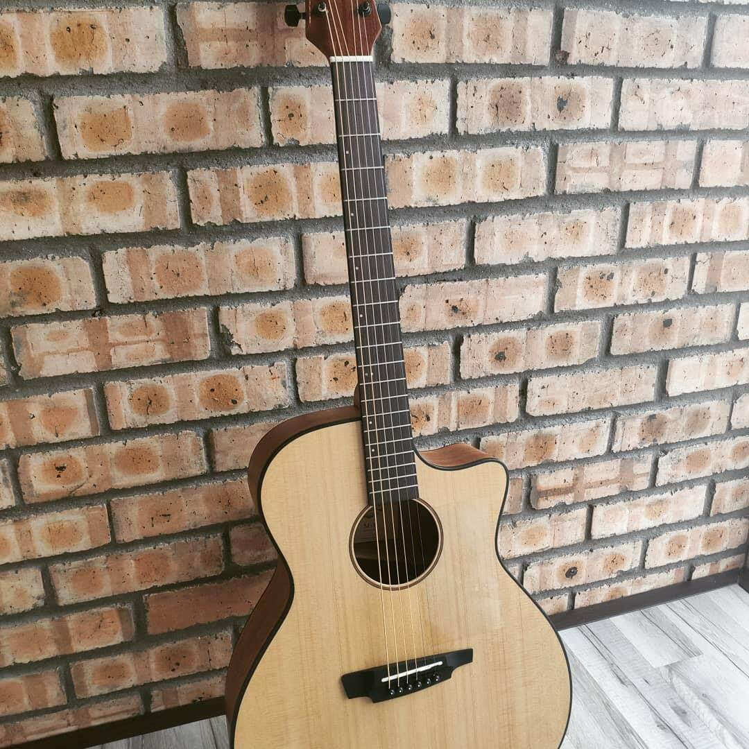 Protégé M-1 by Maestro Guitars, Acoustic Guitar for Beginners. COMES WITH Protege Guitar Bag 5mm Padding and Dunlop Guitar Pick