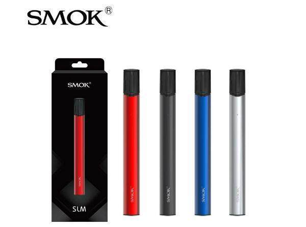 100% Original SMOK SLM Stick Thick Pod Starter Kit 250mAh smok slm kit blue