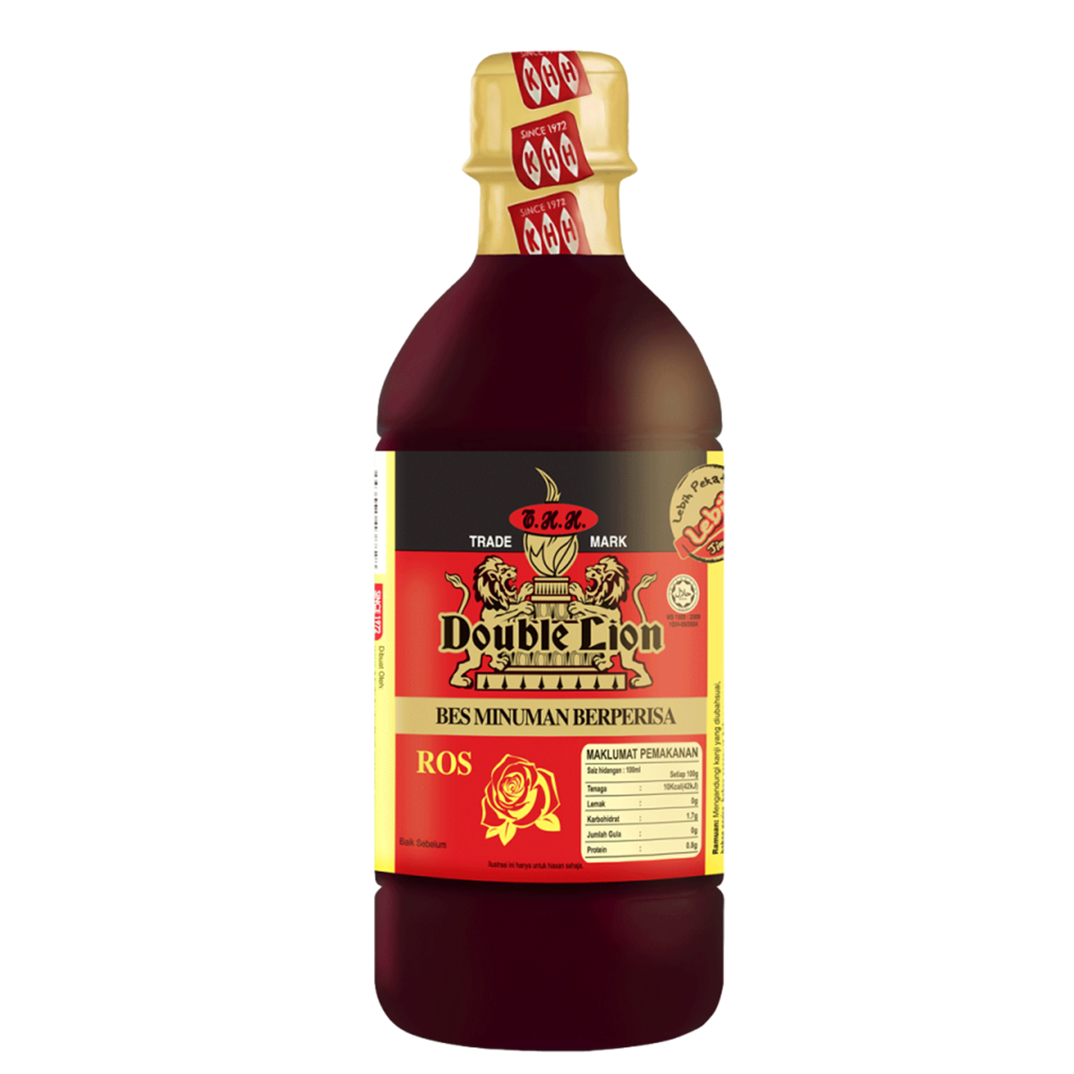DOUBLE LION Flavored Concentrate Rose 495ml