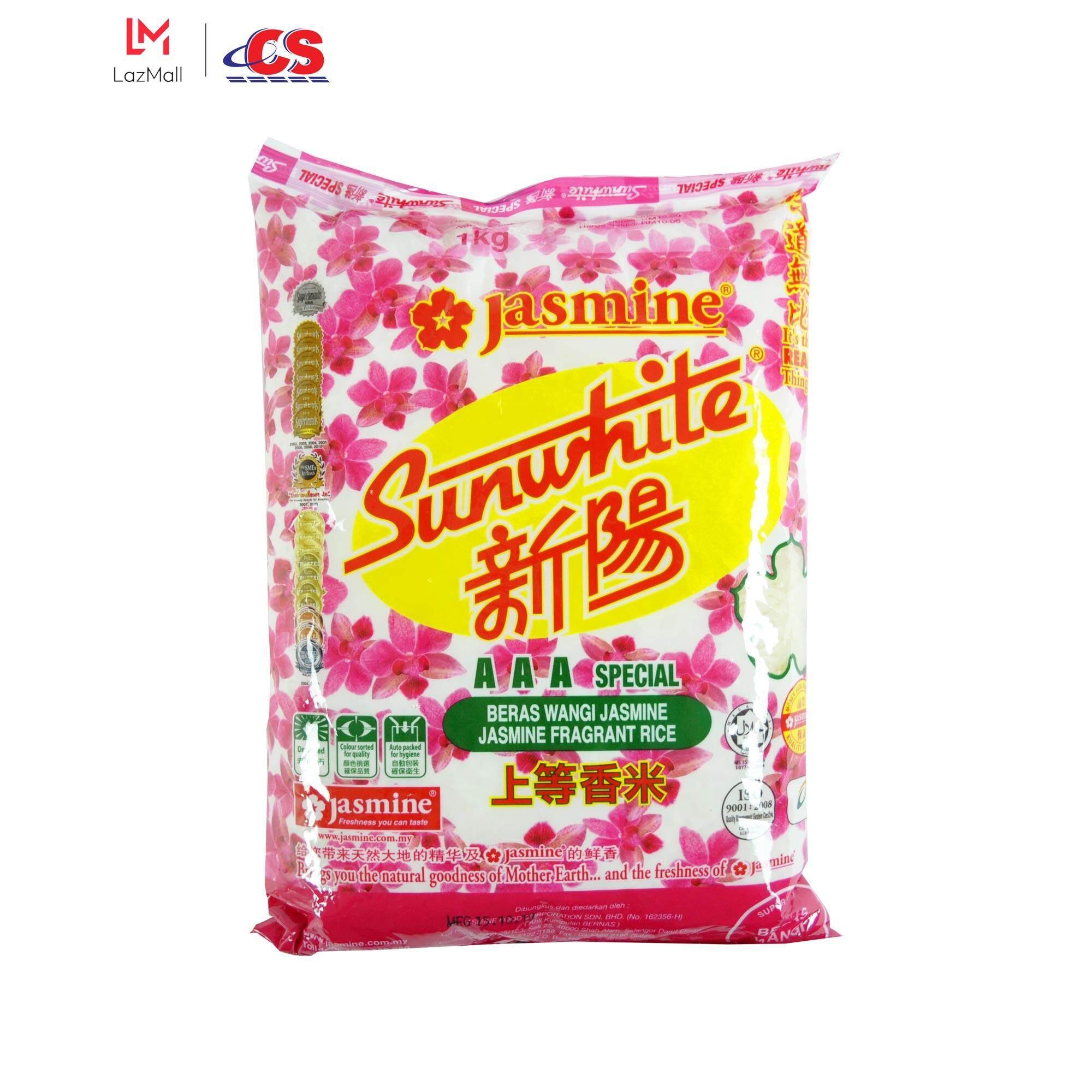 JASMINE Sunwhite Fragnance Rice 1kg