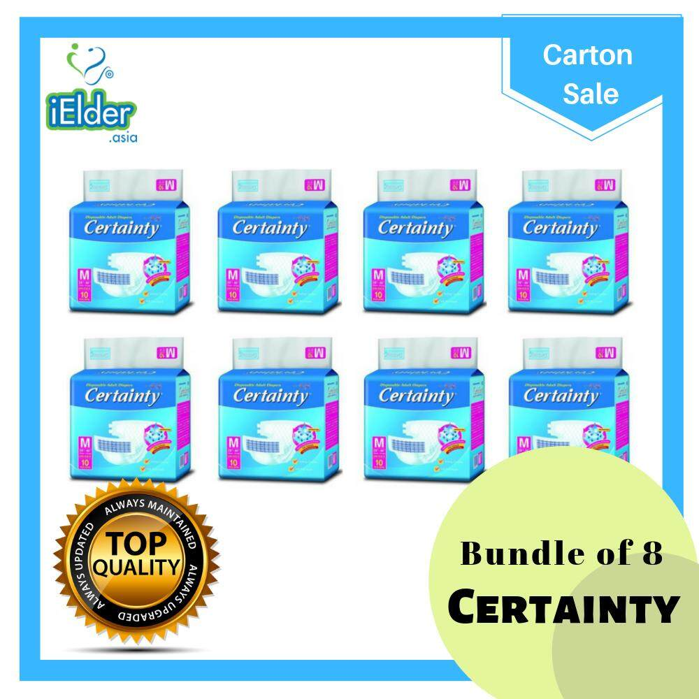 Certainty Adult Diapers (M size) (8 bags per carton)