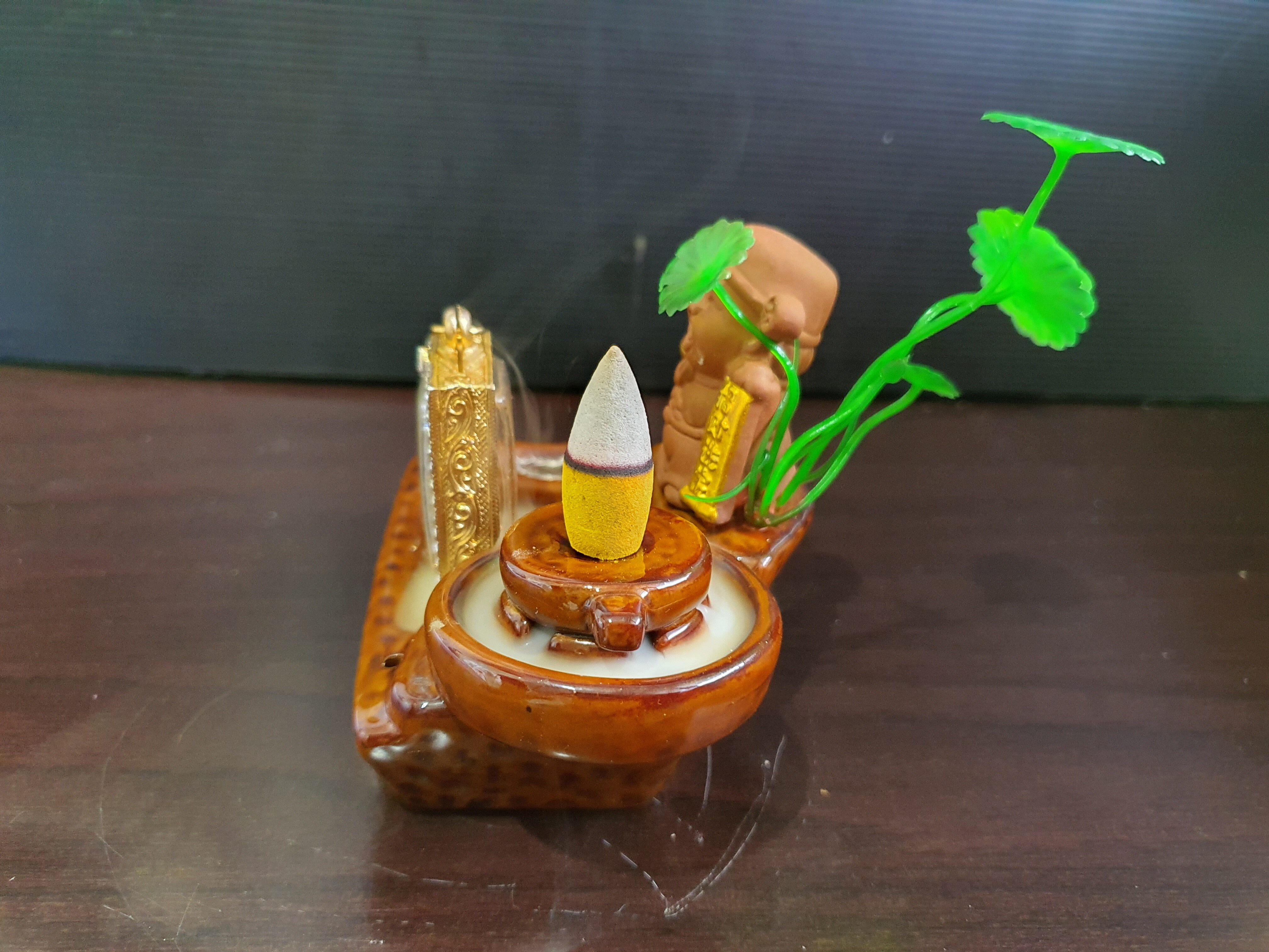 Amulet Offering Stand# Mae Nang Phim Offering Water#