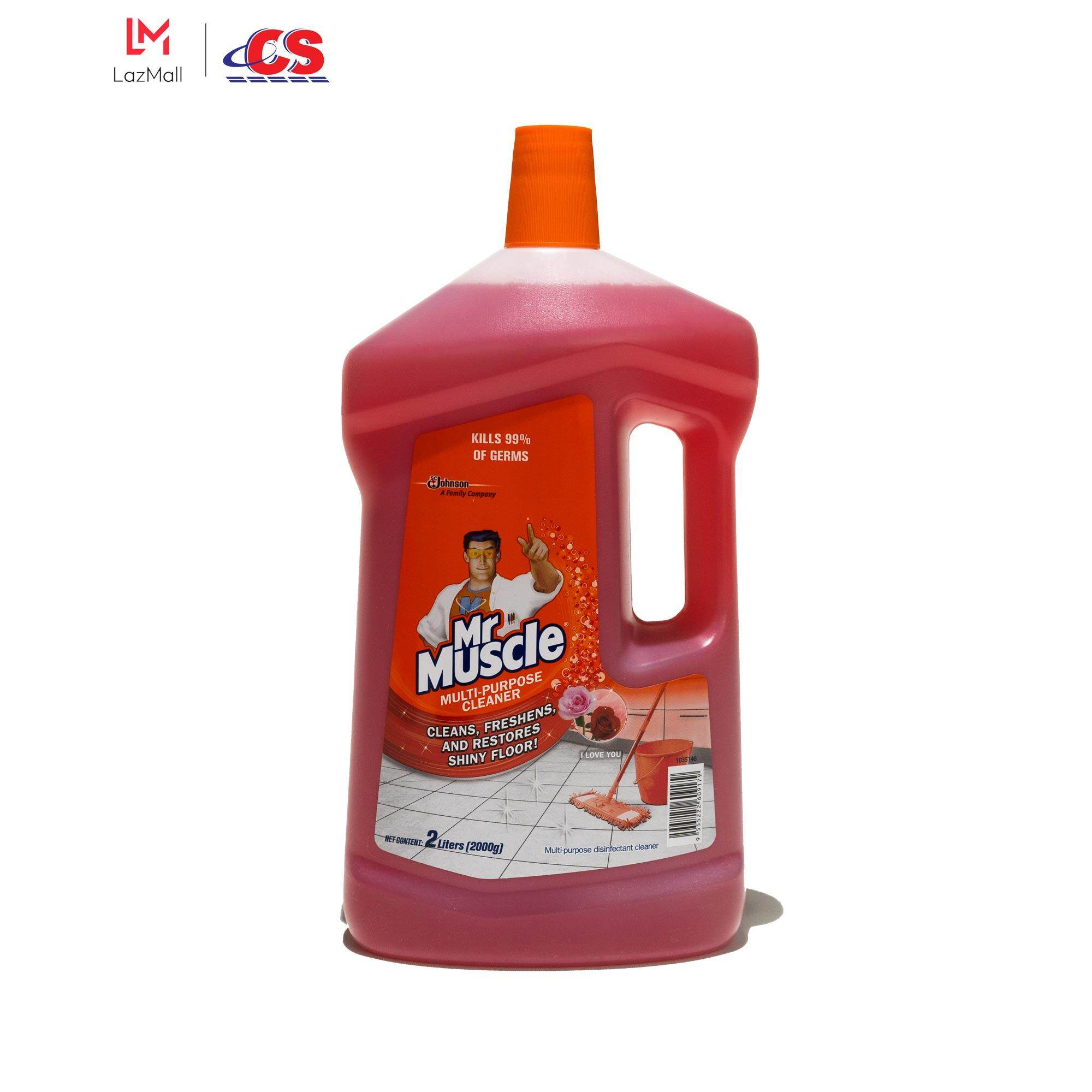 MR MUSCLE Multipurpose Cleaner I Love You 2L