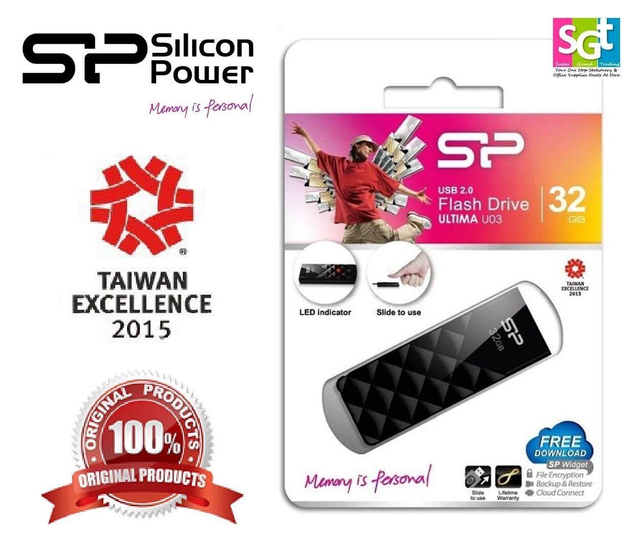 Silicon Power Ultima U03 32GB USB 2.0 Flash Drive