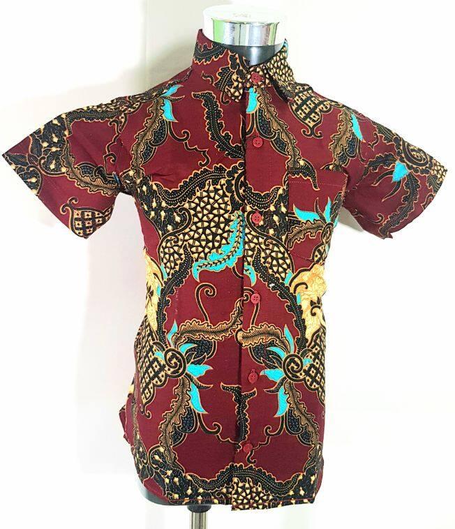 [Hot Sale] B-BOW 100% Cotton Batik Shirt Baby Slim Fit Series 3665