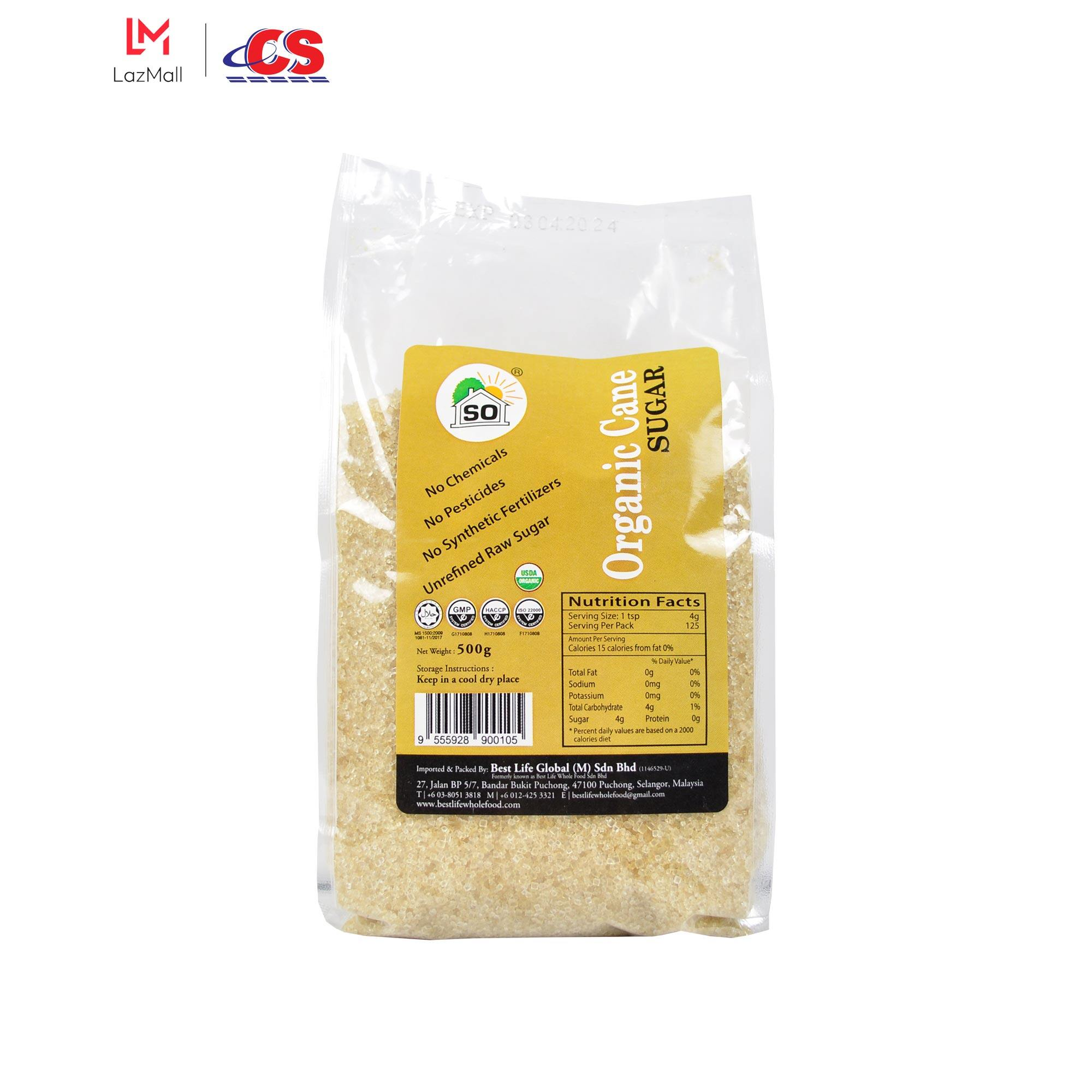 SO Organic Cane Sugar 500 g