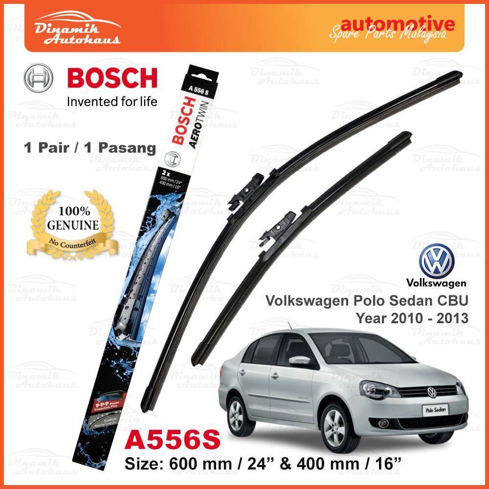 "Volkswagen Polo Sedan CBU Year 2010 – 2013 Car Windshield Wiper Blade 24"" / 16"" Bosch AeroTwin A556S"