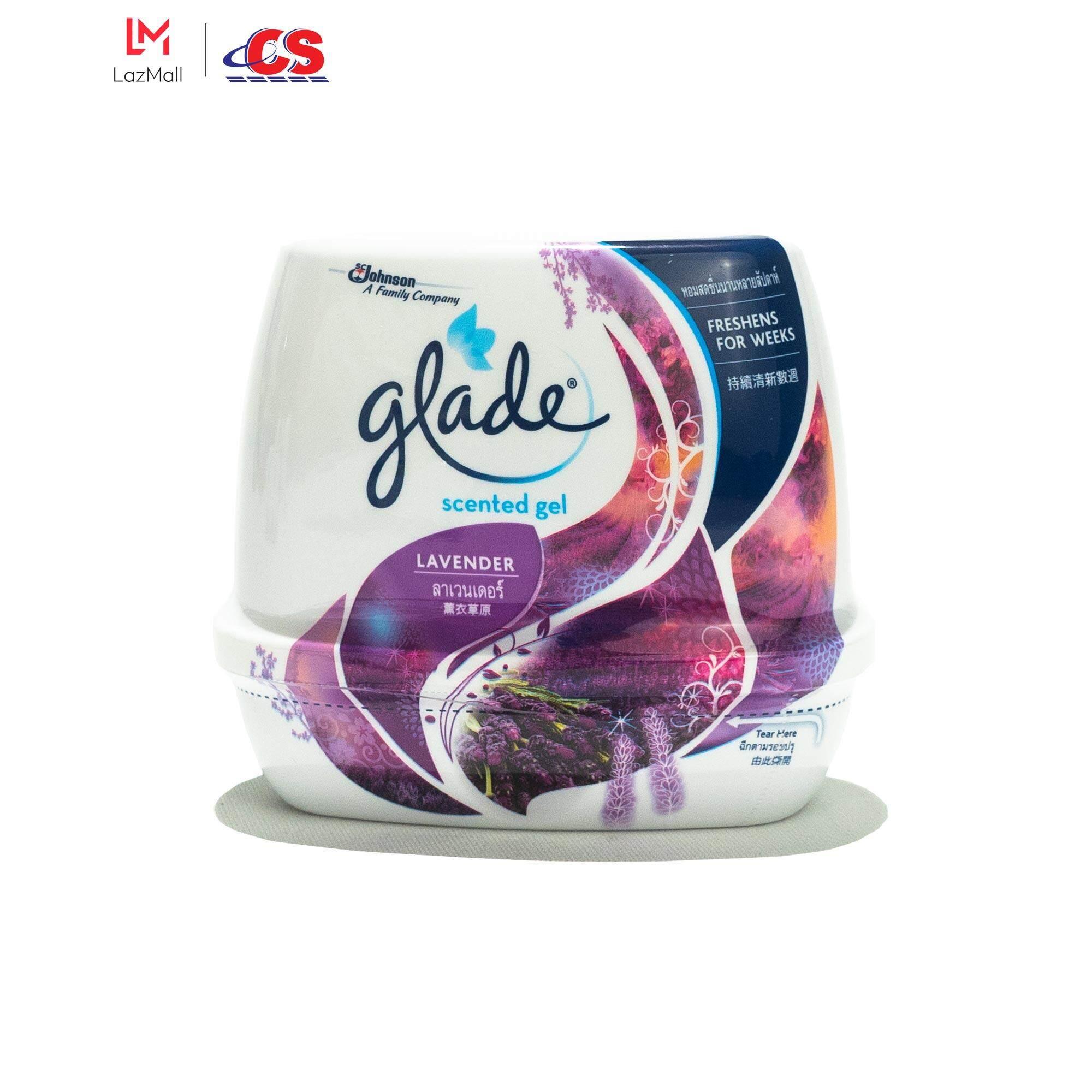 GLADE Scented Gel Lavender 180g