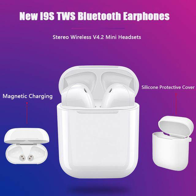 Original I9s TWS Bluetooth Earphone Bass Stereo Wireless Air Pods Mini Headphone for all phone