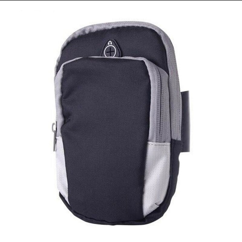 Ready Stock - Thick Arm Band Bag 2 Compartments Sports Running Jogging
