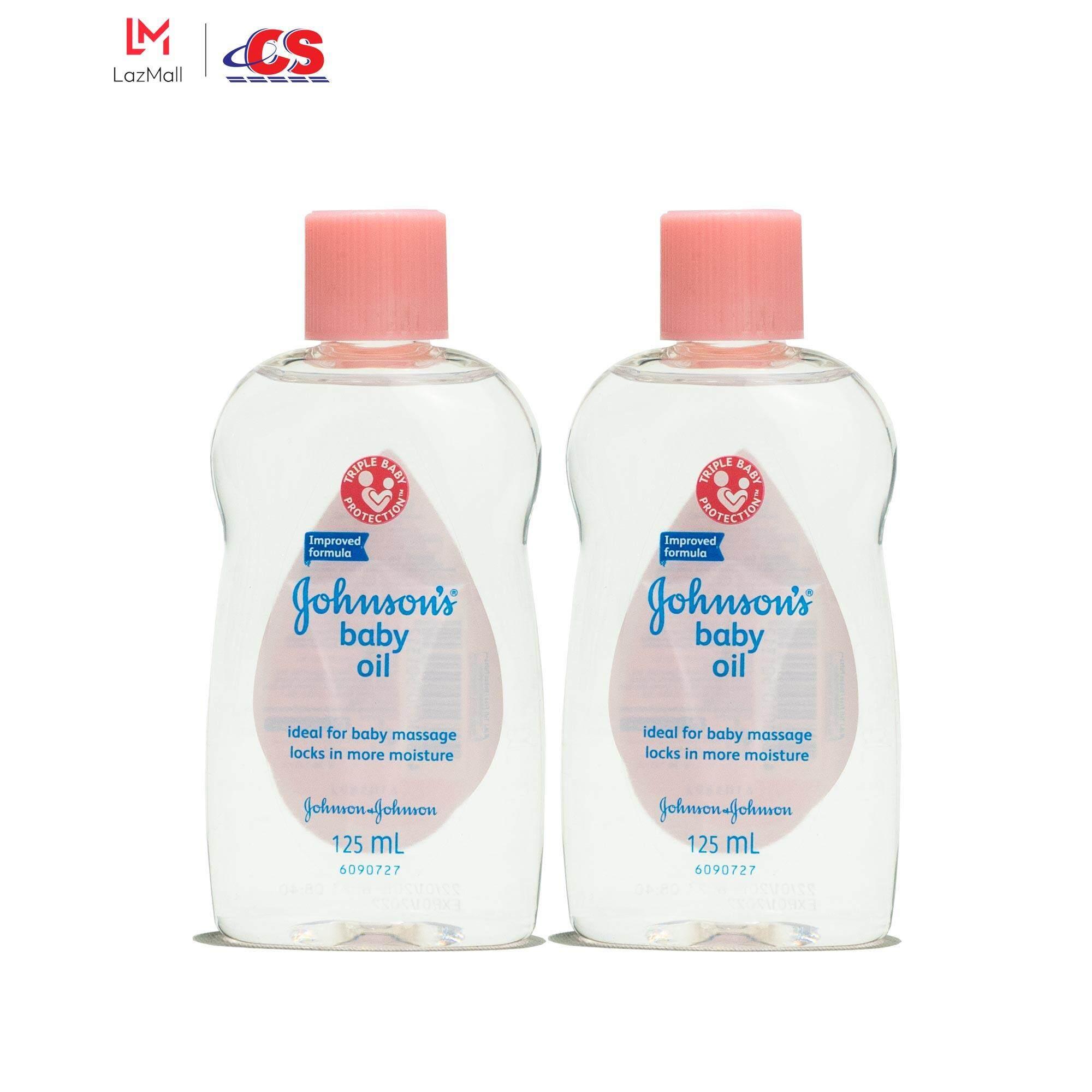 JOHNSONS BABY Oil Regular Twin Pack 2x125ml
