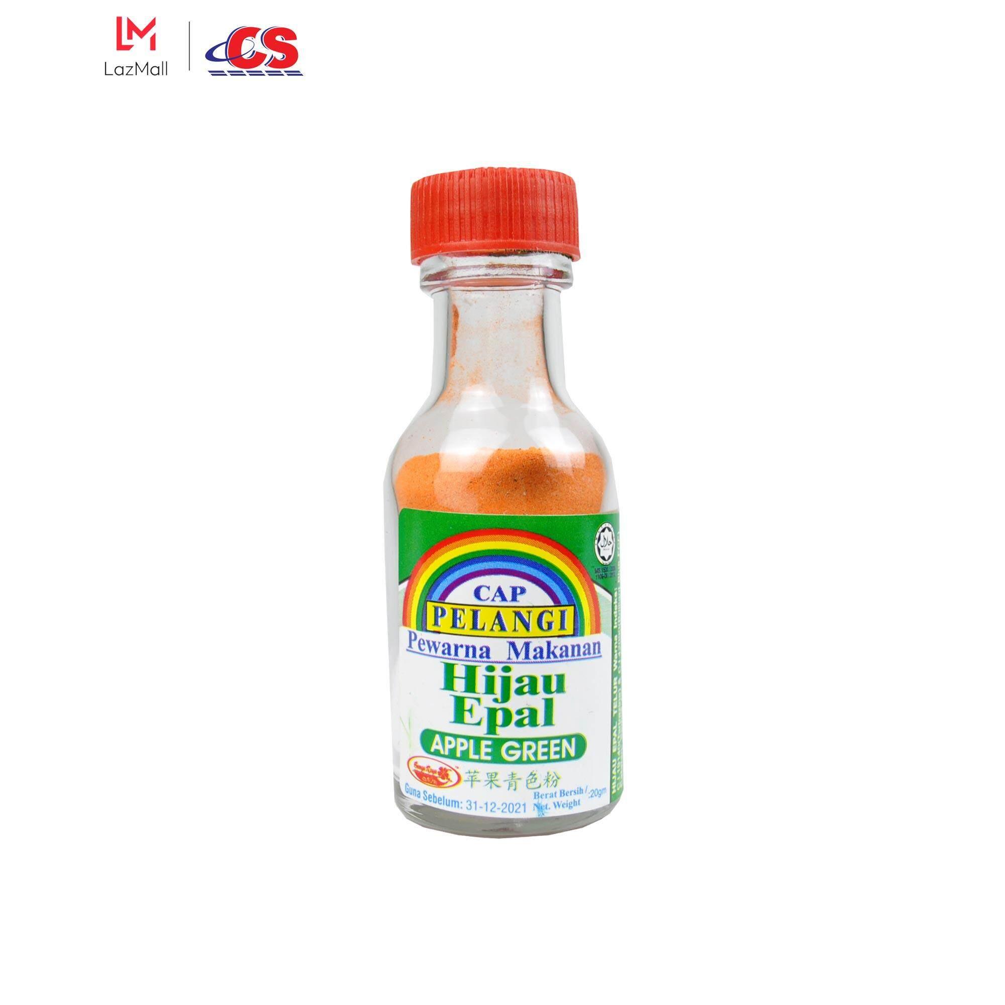 CAP PELANGI Apple Green Colouring Powder 20g