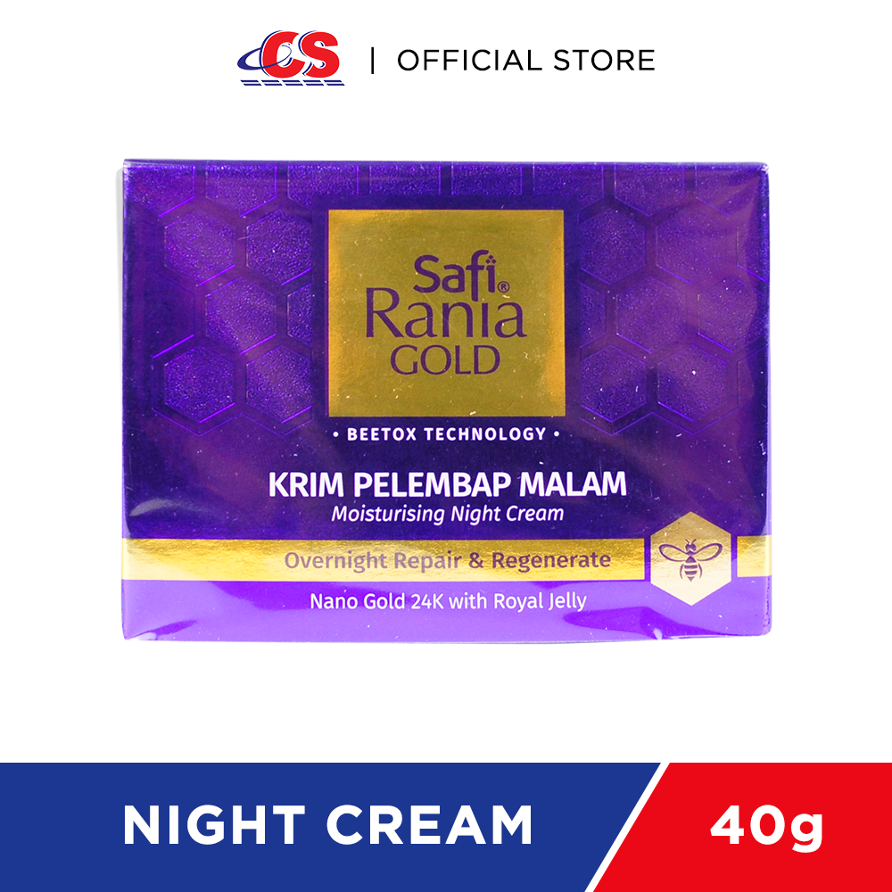 SAFI RANIA GOLD Moisturising Night Cream 40 g