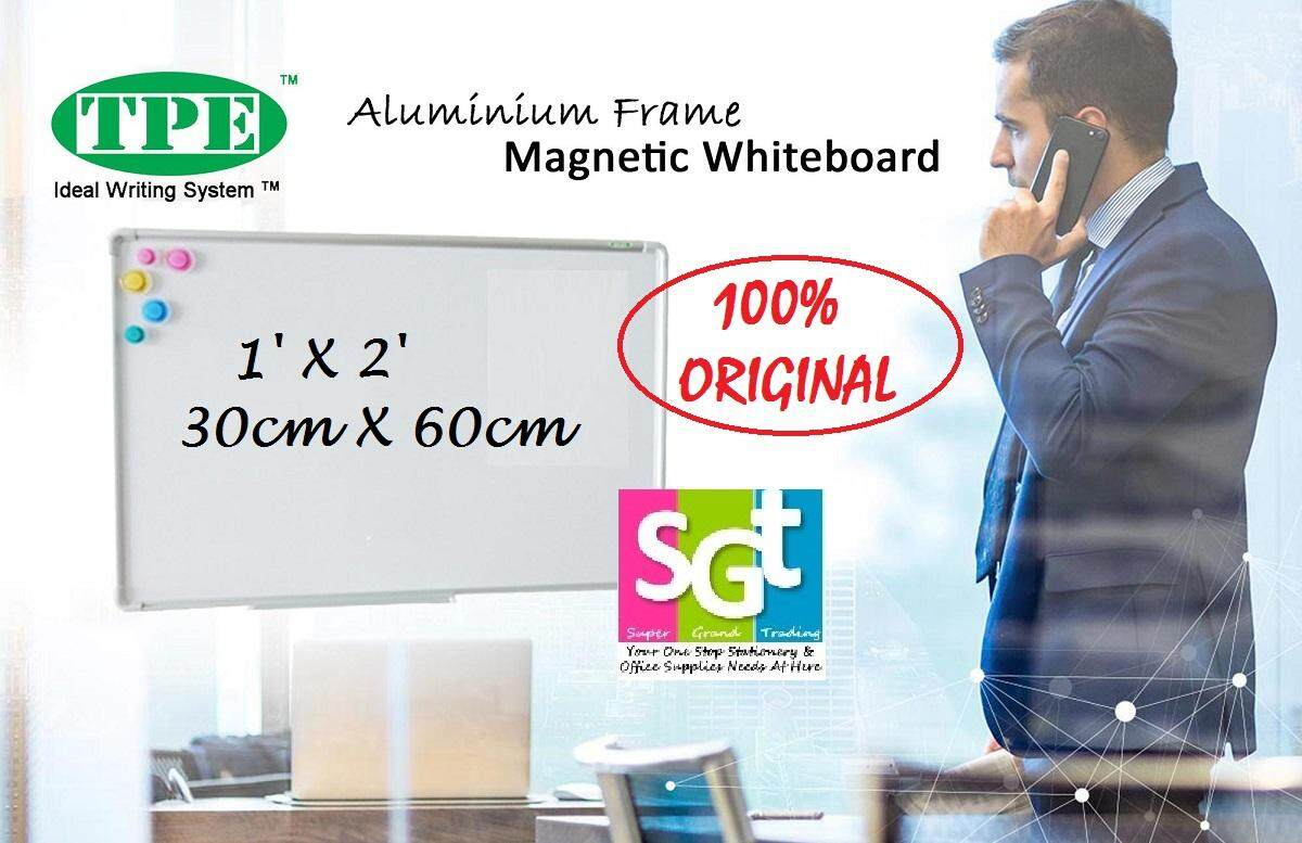 TPE Magnetic Whiteboard 1' x 2' (30cm x 60cm)