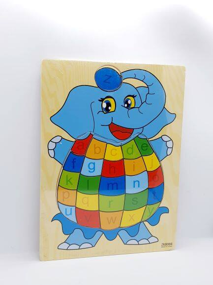 Ready Stock - A4 Animal Kids Wooden Puzzle