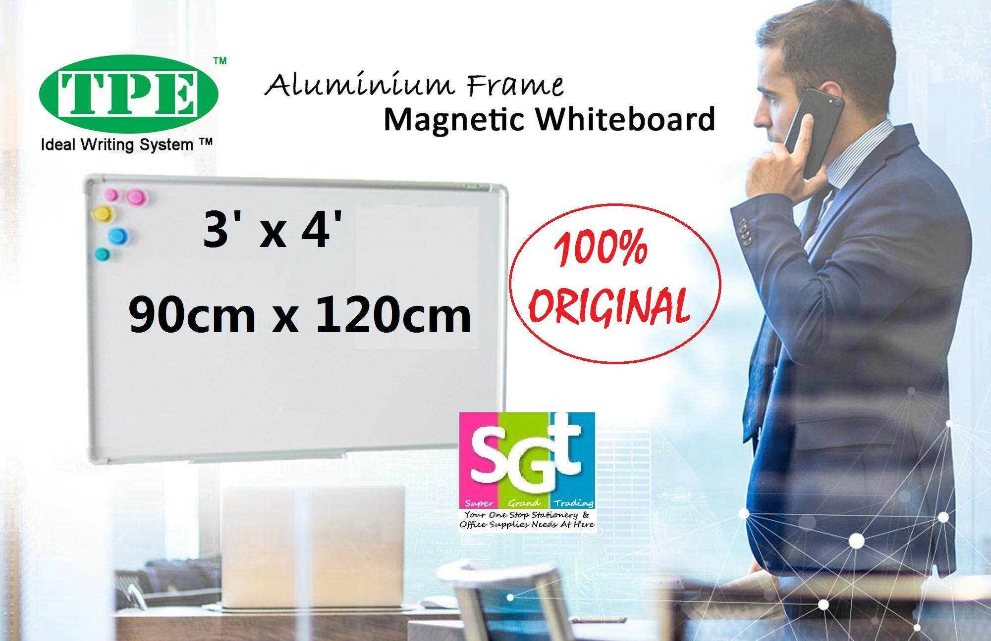 TPE Magnetic Whiteboard ( 3' x 4') 90CM X 120CM