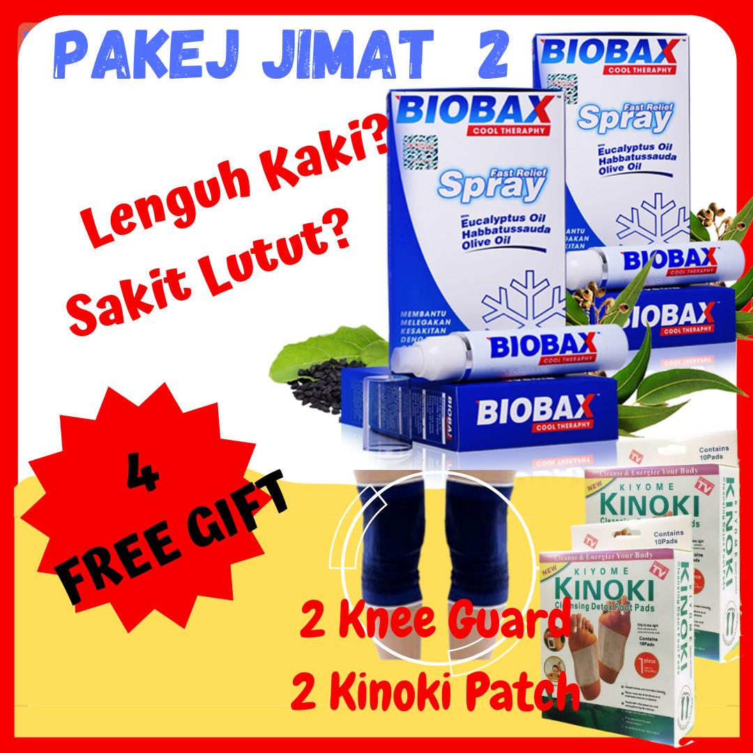 Biobax Spray ? Pakej Kombo 2 Unit Untuk Legakan Lenguh Dan Sakit Sendi Terutama Ibu Bapa
