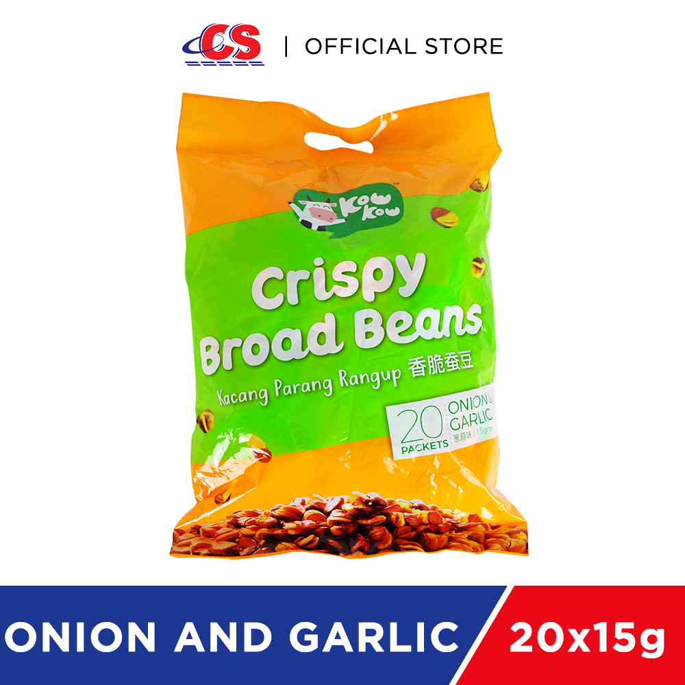 KOW KOW Broad Beans Onion and Garlic 20x15g