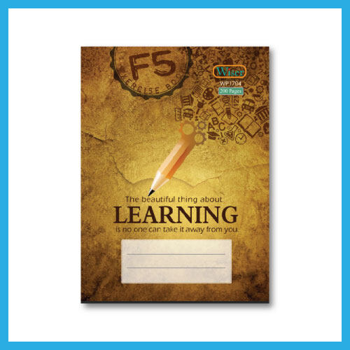 Ouranos Art Christian English Student B5-Wiser Exercise Book 18 cm x 25 cm